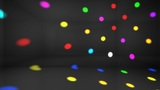 Disco Light Ad HD stock footage