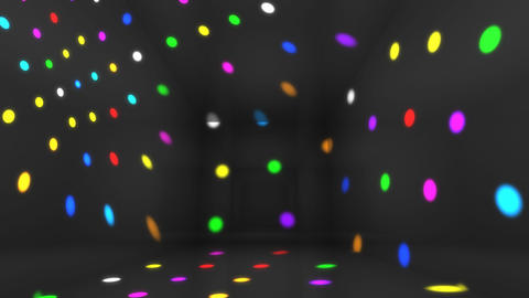 Disco Light Bd HD Stock Video Footage
