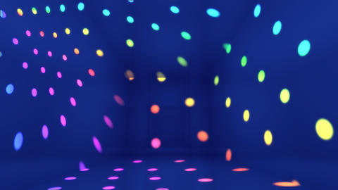 Disco Light Bj HD Animation