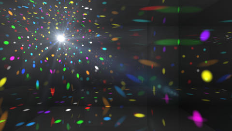 Disco Light Cb2 HD Stock Video Footage