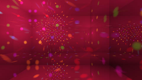 Disco Light Cg2 HD Stock Video Footage