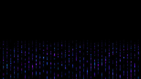 Digital matrix and light background,Fountain,water,waves,rhythm,fluctuations,jump,romantic,material Animation