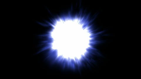 blue dazzling light,explosion.god,heaven,magical,religion,spiritual,pulse Animation