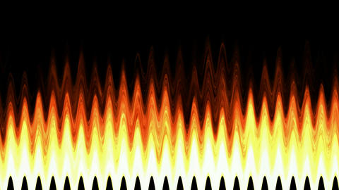 Flame pulse... Stock Video Footage