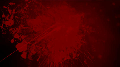 Red ink splash background,blood,Violence,fighting,murder,case,criminal,investigation,killer,assassin Animation