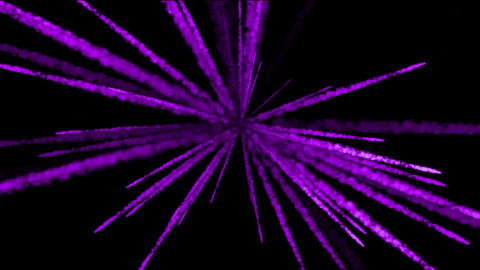 purple smoke missile at night.space,structure,explosion,smog,fireworks Animation