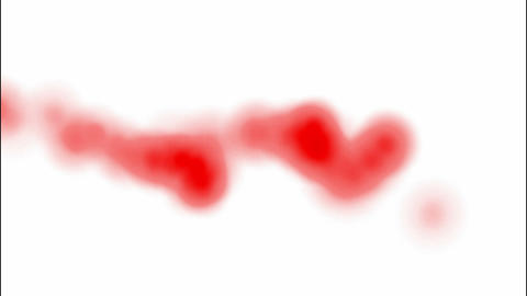 red splash... Stock Video Footage
