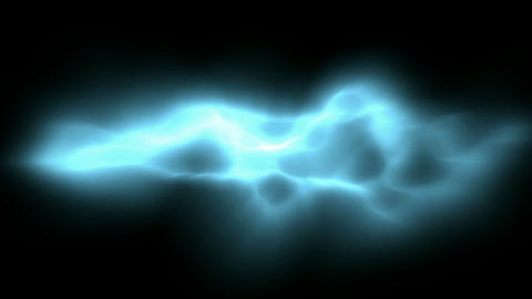 Blue Lightning... Stock Video Footage