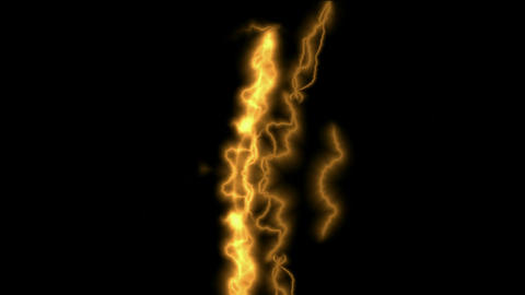 Golden Lightning Streaks.amps,atmospheric,bright,dangerous Animation