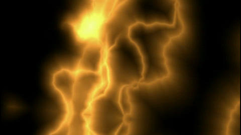 Golden Lightning Streaks.amps,atmospheric,bright,dangerous,dramatic,electric Animation