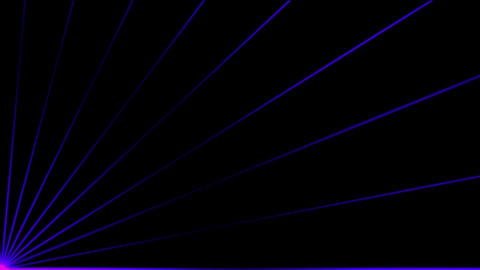 Animation of color pulse ray... Stock Video Footage