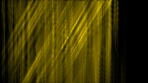 yellow waveform,rays... Stock Video Footage