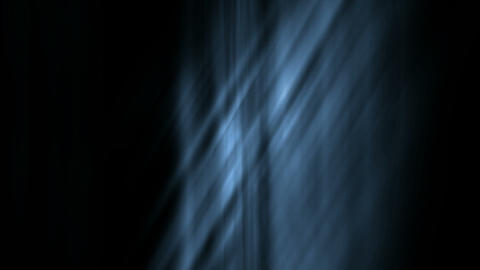 blue fiber rays light.Cloth,silk,yarn,curtain,Liquid Animation