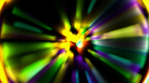 color ray light,dazzling... Stock Video Footage
