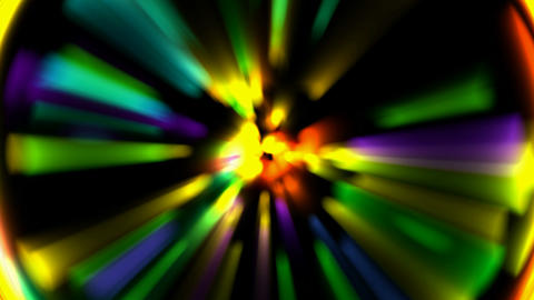 color ray light,dazzling neon.Pupil,aura,bright,circle,dream,flash Animation