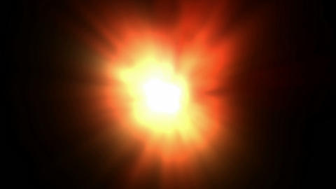 solar explosion in Universe,fireball.flare,universe,glow,energy,fire,flame Animation