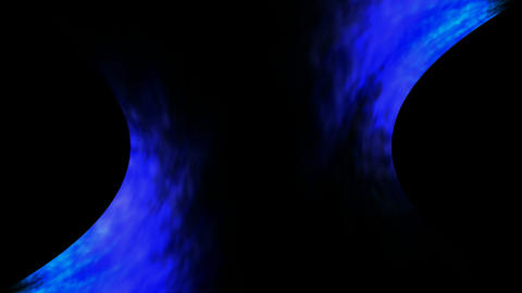 Rotating blue... Stock Video Footage