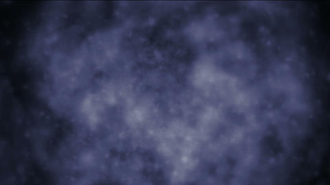 flying particle smoke in dark,Space galaxy in space,begin of the universe Animation