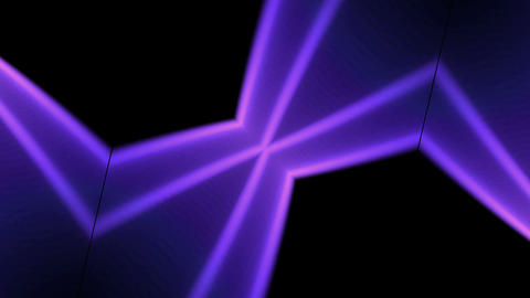 purple heart and pulse light,wedding background,jewelry Stock Video Footage