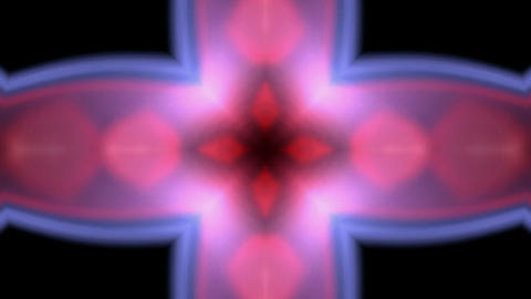 flare flower pattern,Bright cross glow light,frame,Design,symbol,dream,mind,creativity Animation