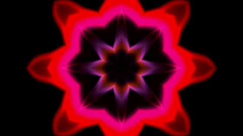 red retro lotus pattern,Buddhism flower,religion... Stock Video Footage