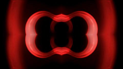 Buddhism Mandala pattern,red modern ring,banner... Stock Video Footage