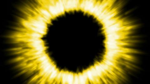 golden ray light,tech... Stock Video Footage