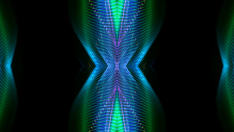green ray light,music rhythm... Stock Video Footage