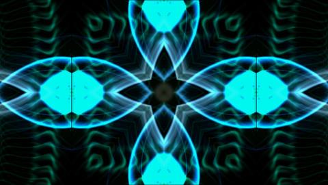 blue flower background,disco fancy... Stock Video Footage