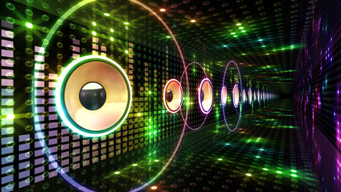 Disco Space 3 PBmD2 HD Stock Video Footage