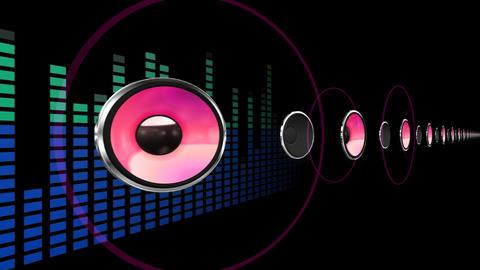 Disco Space 3 PBmL HD Stock Video Footage