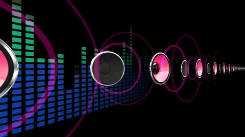 Disco Space 3 PBmL HD Animation
