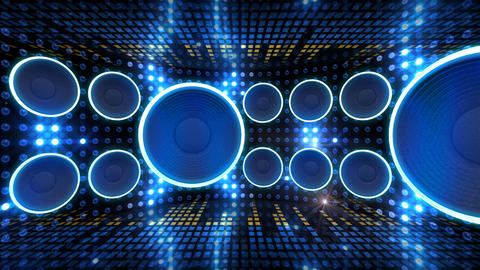 Disco Space 3 CBrD1 HD Animation