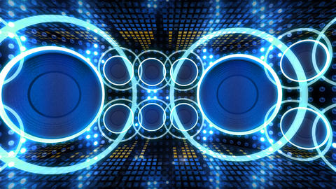 Disco Space 3 CBrD1 HD Stock Video Footage