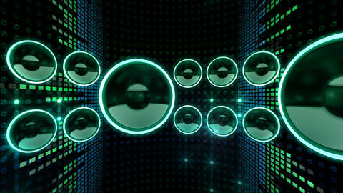 Disco Space 3 CBrD3 HD Stock Video Footage