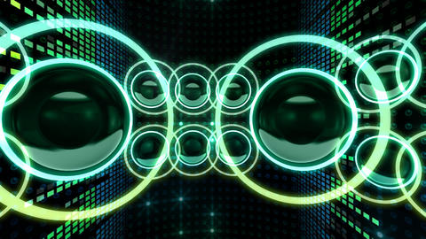 Disco Space 3 CBrD3 HD Animation