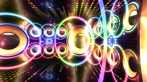 Disco Space 3 CDrC1 HD Stock Video Footage