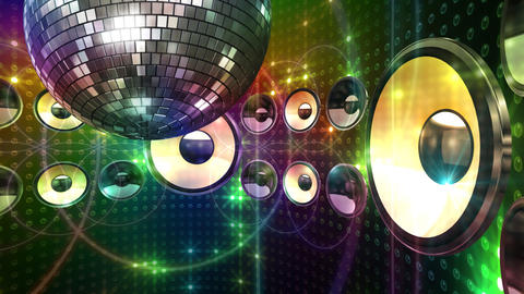 Disco Space 3 CDrD2 HD Stock Video Footage