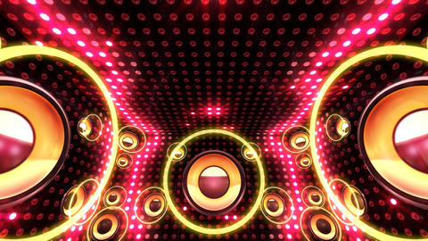 Disco Space 3 RBfD1 HD Stock Video Footage