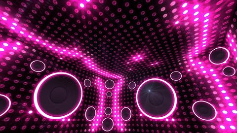 Disco Space 3 RBrD1 HD Animation