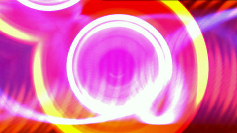 brilliant light pulse and circle background,wedding... Stock Video Footage