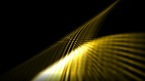 abstract golden grid ray and light,fiber optic,web tech... Stock Video Footage