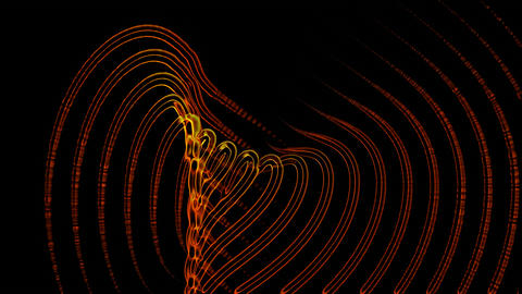 DNA strand,ray and light,fiber optic,Molten... Stock Video Footage