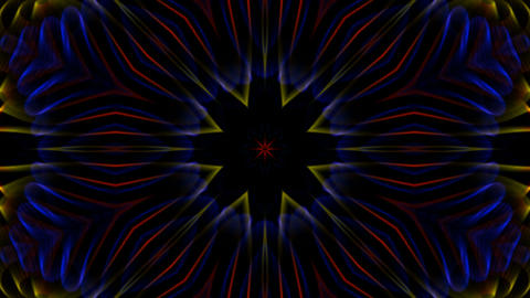 color flower pattern,Fantasy fiber... Stock Video Footage