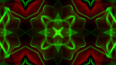 color retro flower pattern,disco neon,Fantasy fiber... Stock Video Footage