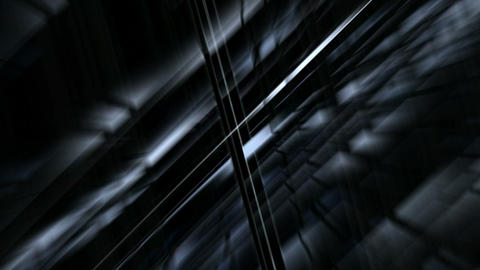blue light and metal pipe Intertwined in space.science... Stock Video Footage