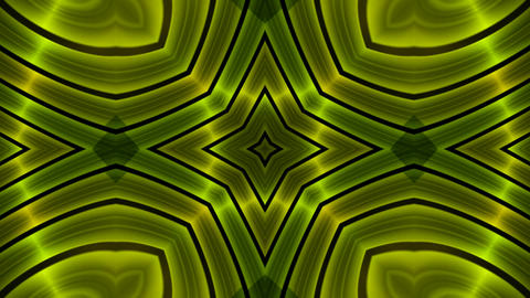 green flower metal background,circle pulse... Stock Video Footage