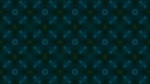 blue oriental flower fancy... Stock Video Footage