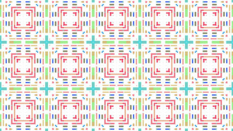 color mosaics array background,fancy pattern,disco ligth... Stock Video Footage