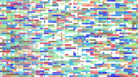 Color bricks background,Disk... Stock Video Footage